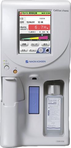 HbA1c、CRP測定装置